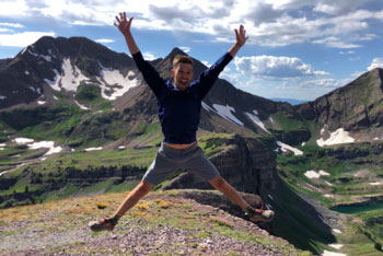 Chiropractor Ryan Schrock Hiking