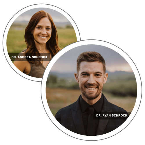 Chiropractors Louisville CO Ryan Schrock and Andrea Schrock